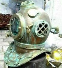Antique Anchor Morse Copper Divers Diving Helmet Deep Engineering 1921 Scuba Sea
