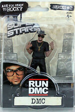"DMC of RUN-D.M.C. Action Figure VERY RARE 2009 Series #2 4"" Hip Hop BNIB"