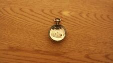 Antique Solid Silver Case Pocket Watch chester 1856 S maker worn mark.