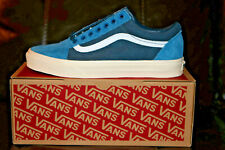 Vans for J.Crew Old Skool Sneakers Shoes Limited Edition Blue NEW Mens US 10.5 D