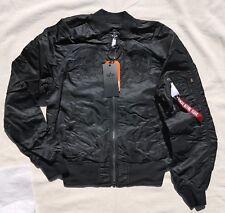 Authentic Alpha Industries Mens Ma-1 Souvenir Shinto Flight Jacket 3xl