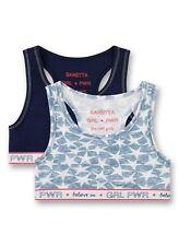 Sanetta Girl Bustier rosa Alloverdruck Ringel Gr 140 152 164  176  UVP 13,95 €