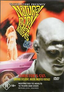 NATURAL BORN KILLERS (R-Rated DVD, 2002)