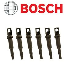6 Original BOSCH Ignition Coil with Spark Plug Connector BMW 1 3 5 6 7 x3 x5 x6