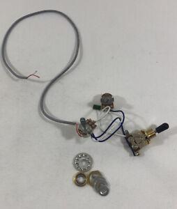 2020 Jackson Rhoades JS32T Wiring Harness Vol Tone Pots 3-Way Switch w/ HW