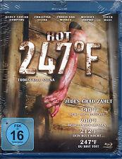 247º Fahrenheit: Death In The Sauna - - Blu-Ray Disc - Uncut Version -