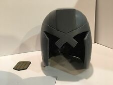 judge dredd helmet movie version raw cast movie prop collectible 2012 cosplay