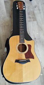 Taylor 710ce 1997 Natural Acoustic-Electric Guitar, Excellent Condition