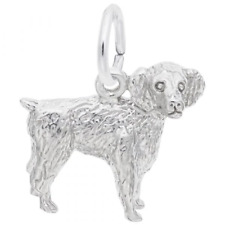Boykin Spaniel Dog Charm: Sterling Silver: Animals & Pets: Style 8476 (Rembrandt