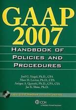 GAAP Handbook of Policies and Procedures (2007)-ExLibrary