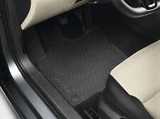 Original VW Gummi Fußmatten Satz Jetta 6 (5C) A6 schwarz 2-teilig vorn Allwetter