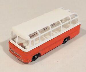 68-B2 EXC/NM! Mercedes Coach Bus Lesney Matchbox circa '65