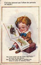 Carte postale HUMORISTIQUE HUMOUR DONALD MC GILL english england lord