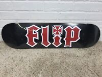 "Flip HKD Team 8.0"" Black Red Skateboard Deck NEW SEALED"