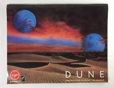 Dune 1993 MS-DOS PC Game Instruction Manual ONLY Virgin Interactive Cryo Studios