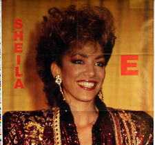 SHEILA E 1986 ENGLISH STORE POSTER ORIGINAL