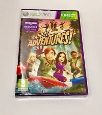 XBOX 360 Kinect Adventures Game Brand New Sealed Requires Sensor