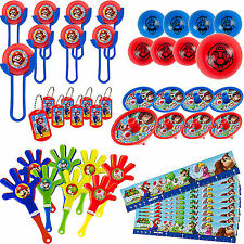 48pcs Super Mario Brothers Mega Mix Favor Pack Birthday Decorations Party Supply