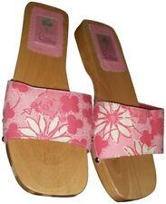 Lilly Pulitzer Pink Pig Martini Sandals Designer New Tote Bag Dress Shoes Size 9