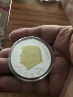 """New """"2020"""" Keep America Great!"""" Trump Silver With Hold Face Collectible Coin"""