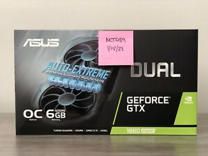 NEW ASUS GeForce GTX 1660 Super OC Dual Fan Evo Edition *IN HAND FREE 2 DAY AIR*