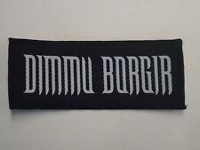 DIMMU BORGIR BLACK METAL WOVEN PATCH