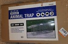 Medium Animal Trap – Item #63008 / #61682 / #09646 Dim:32 in. x 15 in. x 10 in.