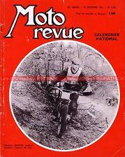 MOTO REVUE 1572 David SKINNER Henriette MOREL TRIAL BOHEC Château du Loir 1961