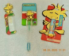 3 New Peanuts Items- Woodstock Lip Balm, Comb & Toothbrush with Hanger