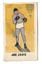 JOE LOUIS  Nº 16 1950's Kiddy's Favourites ORIGINAL BOXING CARD