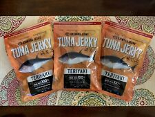 * Made in Hawaii * 3 Bags Kaimana Teriyaki Wild Caught Tuna Jerky