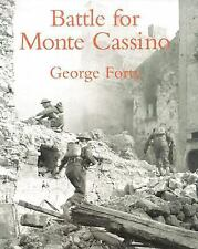 Battle for Monte Cassino - George Forty - Illustrated - Very Good Condition