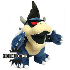 SUPER MARIO BROS. BOWSER OSCURO PELUCHE dark jr. pupazzo plush new 3d land luigi