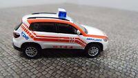 Wiking H0  1:87  Ambulance 00711436 Berufsrettung Wien VW Tiguan  NEU in OVP