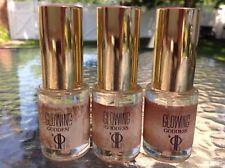 Lot of 3 J-Lo Glowing Goddess Eau de Parfum Sprayers ~ .50 oz each Full Testers