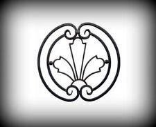 Rosette 520x540 mm Zierelement 14x6 mm Tor Geländer Ornament Garten Zaun 10-110