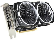 MSI AMD Radeon RX 470 Armor 8G GDDR5 DVI Port Only + HDMI Converter