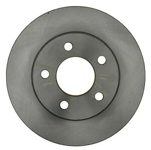 Disc Brake Rotor-Non-Coated Front ACDelco 18A121A