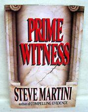 Prime Witness By Steve Martini Used Book Hardback W/Dust Cover