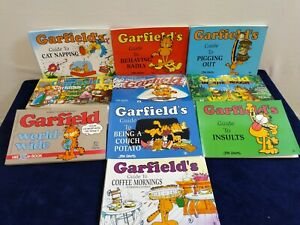 Vintage Garfield Comic Strip Book Joblot  1980s 90s 2000s Guides to /  Christmas