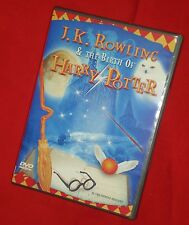 J.K. Rowling & Birth Of Harry Potter DVD A MUST-HAVE FOR ALL POTTER FANS Reg 0