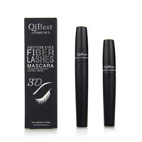 2pcs Eyelash Long Curling Fiber 3D Mascara Eye Lashes Extension Black Gift