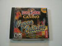 Atari Monopoly Casino Vegas Edition PC Video Game