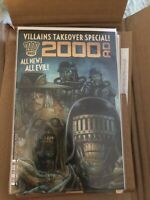2000 AD Villains takeover special 1st print rebellion/2000ad NM Low Print run