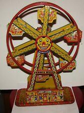 1930 Antique J Chein Tin Wind Up Toy Hercules Ferris Wheel
