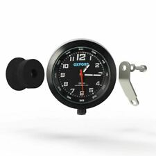 Oxford Analogue Motorcycle Motorbike ATV Clock Black Scooter Water Resistant
