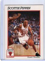 1991 NBA HOOPS BASKETBALL CARD # 34 - HOF SCOTTIE PIPPEN - CHICAGO BULLS