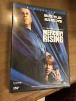 Mercury Rising (DVD, 1998)