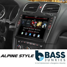 "Alpine i902D-G6 - Volkswagen Golf MK6 DAB Bluetooth CarPlay Android 9"" AV Screen"
