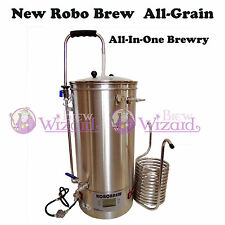 New 35L Robobrew All-In-One Single Vessel S.Steel Semi-Automatic Brewing System